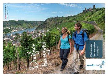 Die Wanderbroschüre Dreifach bewegend der Gastlandschaften Rheinland-Pfalz enthält drei meiner Wanderungen