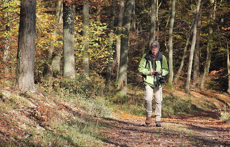 Wanderung, Ahrtal, WDR-Team, Filmaufnahmen